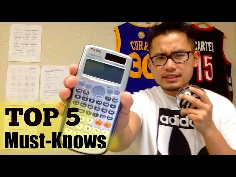 Top 5 reasons of getting the Casio fx-115ES PLUS (perfect for EIT, FE exams, back to shool)