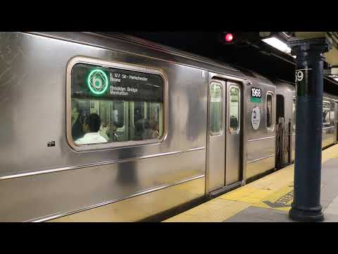 Download New York City Subway Hd Exclusive Bombardier R62a 7 Train R