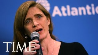 U.S. Ambassador To U.N. Samantha Power Gives Scathing Speech on Russia   TIME