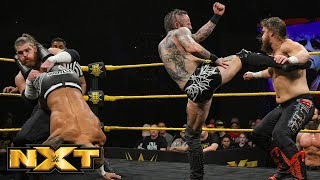 Ricochet & Aleister Black Vs. Forgotten Sons   Dusty Rhodes Classic Final: WWE NXT, March 27, 2019