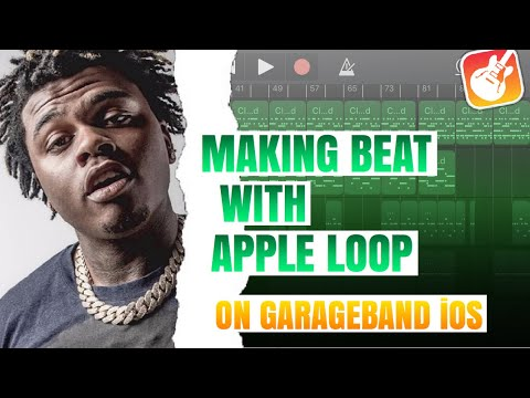 MAKING TRAP BEAT WITH APPLE LOOPS ON GARAGEBAND IOS   HOW TO MAKE BEATS ON GARAGEBAND IOS