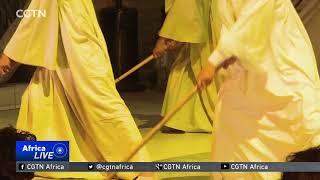 "Egyptian dancers perform traditional ""tahtib"" show"