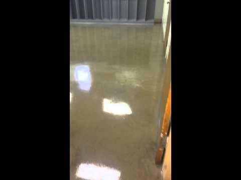 Floor Waxing concrete