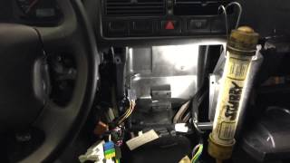 2003 VW Golf foam blowing from center vents