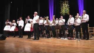 Dechová hudba STŘÍBRŇANKA a její největší hit ZAHRADA MORAVY byla v Kyjově vrcholem
