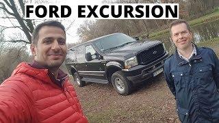 Ford Excursion 6.8 V10 - 2 instalacje LPG i kat. C  - oto Największy SUV na Planecie
