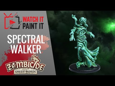 Zombicide Green Horde - Painting Spectral Walkers