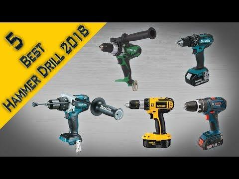 5 Best Hammer Drill 2017 Reviews | Best Cordless Hammer Drill 18v | What Is the Best Hammer Drill