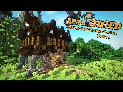 EINFACHES Mittelalterliches HAUS Bauen Minecraft Tutorial TomClip - Minecraft cooles haus bauen anleitung