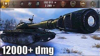 WZ-111 model 5A правильная тактика 🌟 12000+ dmg 🌟 World of Tanks лучший бой топ тт Китай