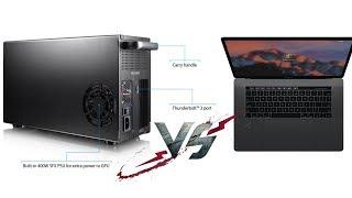 Akitio Node Thunderbolt 3 и MacBook Pro 2016 - Опыт использования (печаль...)