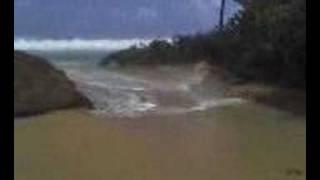 preview picture of video 'Fuerte oleaje en Loiza'