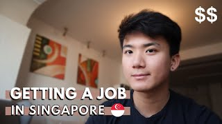How I Get a Job in Singapore as a Foreigner
