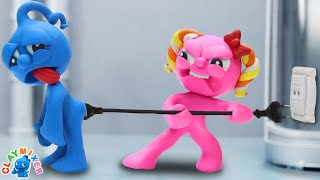 Tiny Was Destroyed By Social Media - Stop Motion Animation Short Film