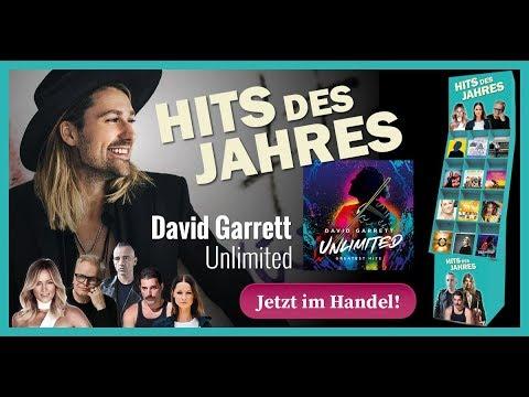 David Garrett - Unlimited (Hits des Jahres 2018)