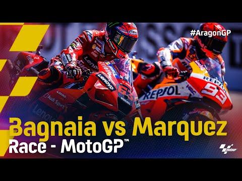 マルケス vs バニャイア MotoGP 2021 第13戦アラゴンGP レースハイライト動画