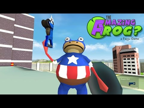Amazing Frog - Ep 5 - Captain Grapple Hook!! - Let's Play Amazing Frog Gameplay