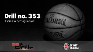 <p>Basketball Drills: esercizio n. 353 -- Il tagliafuori</p>