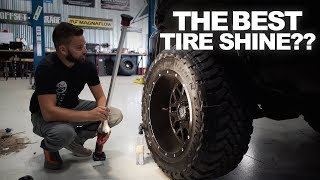 THE BEST TIRE SHINE?