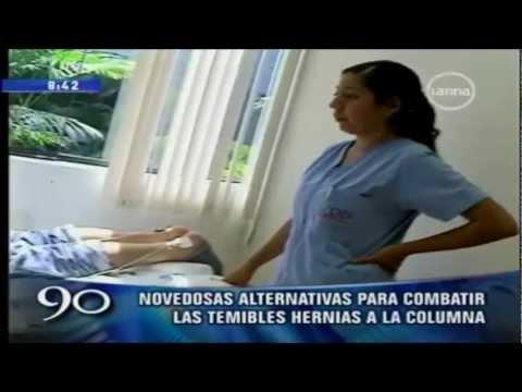 Tratamiento para Hernia Discal y Dolor de Espada Lima Peru