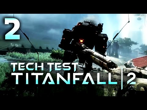 CZ | Let's Play / Gameplay | Titanfall 2 | #2 | Tech Test | PS4 1080p | Souboj titánů