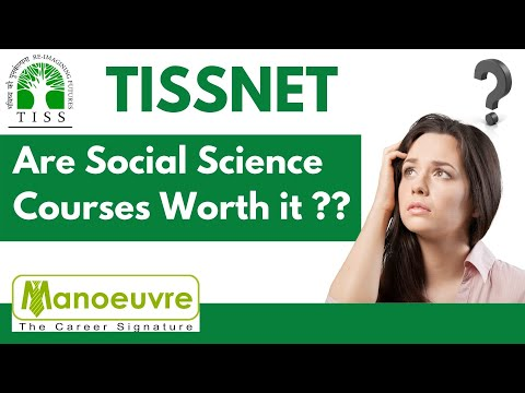 Tissnet - Are Social Science Courses worth ?? | Master in Social ...
