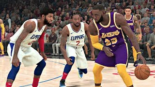 NBA 2K20 Gameplay - Los Angeles Clippers vs Los Angeles Lakers – NBA 2K20 PS4