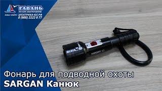 Подводный фонарь САРГАН Канюк