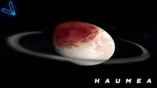 What is Beyond Pluto - The Egg Shaped World Haumea (Episode 1) 4K UHD