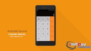 Xamarin Android Tutorial - Calculator App