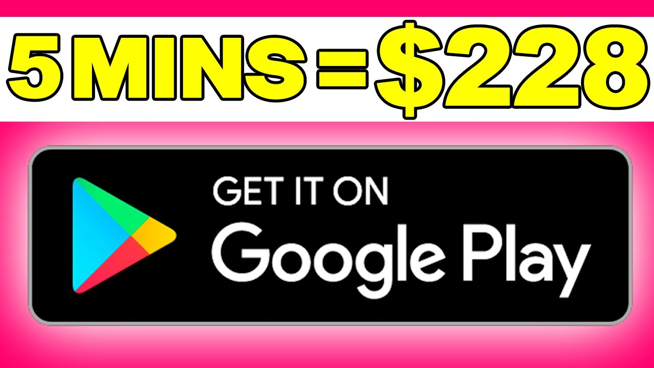 Earn $228.00 in 5 MINS From Google Play?!! - Make Money Online | Branson Tay thumbnail