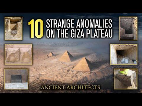 10 vreemde afwijkingen in Giza, Egypte