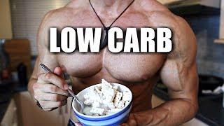 The Hardbody Shredding Low Carb Diet   FULL DAY OF EATING   Hardbody Shredding Ep 19