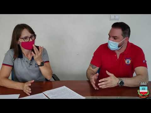 Secretária de Educação, Rejane Schio, fala sobre as ações de início do ano letivo em Rondinha