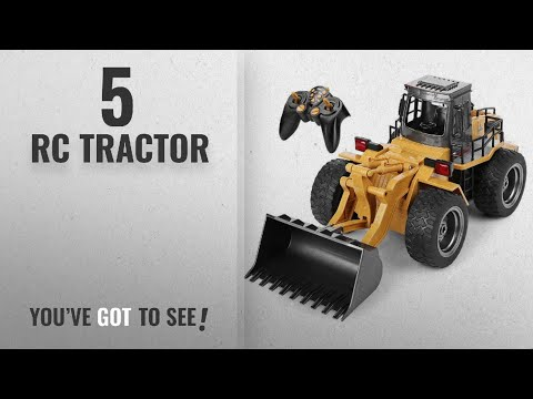 Top 10 Rc Tractor [2018]: Top Race 6 Channel Full Functional Front Loader, RC Remote Control