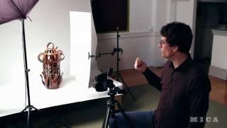 MICA Career Resources: How To Photograph 3D Art W/ Dan Meyers