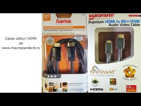 Cabluri HDMI Hama si Promate