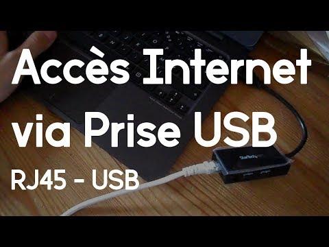 [TUTO] Relier une prise Ethernet RJ45 à une prise USB | Windows/Mac