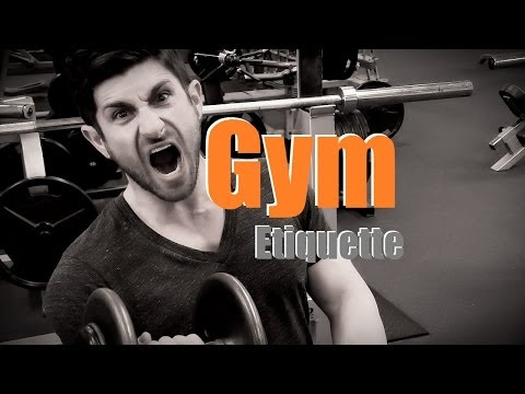 This Video Is A Primer To Gym Etiquette