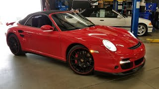 2008 Porsche 911 turbo rear differential noise test