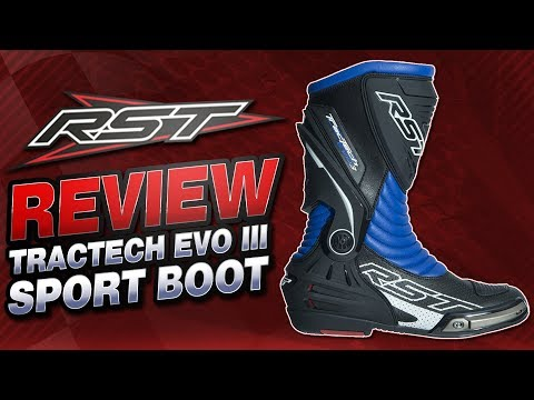 RST TracTech EVO III Sport Boots Review | Sportbike Track Gear