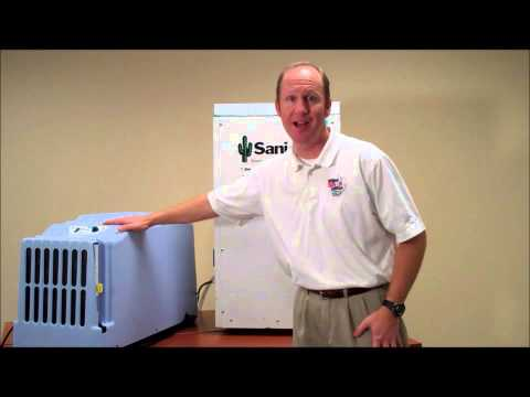 Curt Drew, President of the National Radon Defense, discusses that the best solution to eliminating health issues from microbial growth (danger level 4) is with the SaniDry basement air system. The SaniDry is a high performance dehumidifier and air infiltration system that can remove up to 109 pints of water per day. The SaniDry is actually 6 to 8 times more effective at reducing humidity out of the air then a traditional small dehumidifier that you could typically find at your local box store. The SaniDry doesn't stop with dehumidification; it can also provide air infiltration. The XP is equipped with a MERV 11 air filter capable of trapping airborne particles as small as 2 microns.