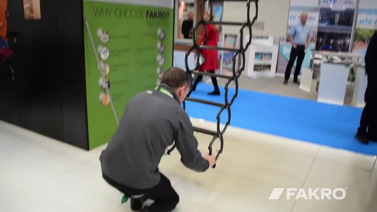 The Brilliant Scissor Loft Ladder in Action
