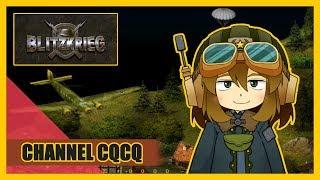 ゲーム実況BlitzkRieg#01アルデンヌの森を越えてVtuber/CQCQ