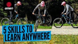 5 Basic Mountain Bike Skills You Can Learn Anywhere   Essential MTB Skills