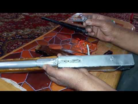 Homemade double barrel 410 pistol shotgun part 1 - تنزيل يوتيوب