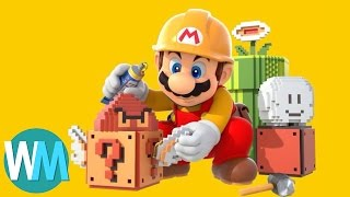 Top 10 Things You Didn't Know You Could do in Mario Maker