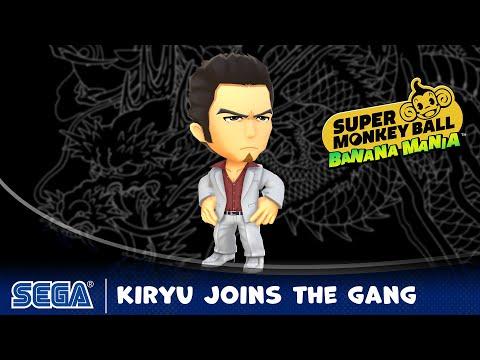 Kazuma Kiryu Joins the Gang de Super Monkey Ball: Banana Mania