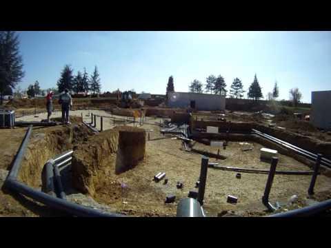 Construction de l'espace aquatique Lac de Thoux St-cricq