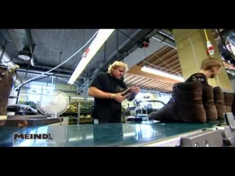 Meindl boots making clip